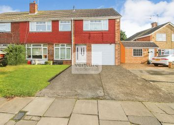 Thumbnail 4 bed semi-detached house for sale in Gransden Close, Luton