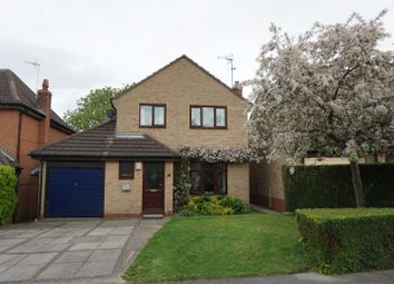 Thumbnail 3 bed detached house for sale in Middleton Close, Leicester