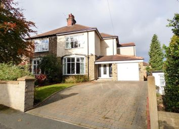 Thumbnail 3 bed semi-detached house for sale in Longley Road, Huddersfield