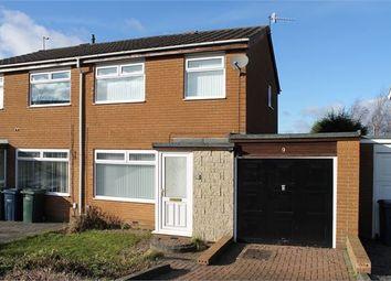 Thumbnail 3 bed semi-detached house for sale in Oakridge, Fellside Park, Whickham, Newcastle Upon Tyne.