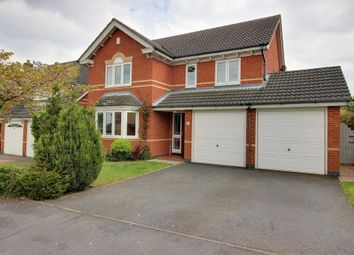 Thumbnail 4 bed detached house for sale in Minton Road, Castle Donington, Derby