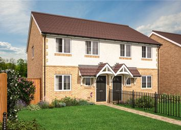 Thumbnail 3 bedroom semi-detached house for sale in Littleton Fields, Withy Trees Road, South Littleton