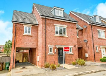 Thumbnail 4 bed link-detached house for sale in Wychewood Close, Corby