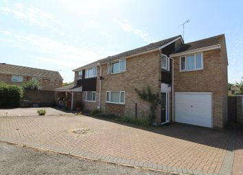 Thumbnail 4 bed semi-detached house for sale in Blythe Close, Newport Pagnell, Buckinghamshire