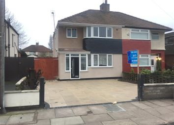 Thumbnail 3 bed semi-detached house for sale in Aintree Lane, Old Roan, Liverpool