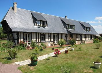 Thumbnail 3 bed longère for sale in Rouge-Perriers, Haute-Normandie, 27110, France