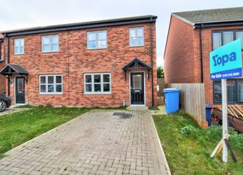 Thumbnail 3 bed semi-detached house for sale in Alwin Grove, Dinnington, Newcastle Upon Tyne