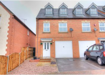 Thumbnail 3 bed town house to rent in Castle Road, Castle Gresley, Swadlincote