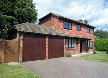 Thumbnail 4 bed detached house to rent in Cheylesmore Drive, Frimley, Camberley