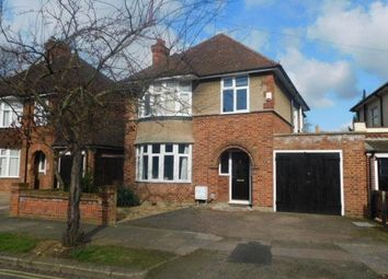 Thumbnail 3 bedroom detached house to rent in Kingsbrook Road, Bedford