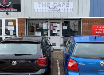 Thumbnail Restaurant/cafe for sale in John Wilson Business Park, Harvey Drive, Chestfield, Whitstable