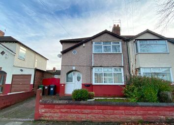 Thumbnail 3 bed semi-detached house for sale in Moss Lane, Litherland, Liverpool