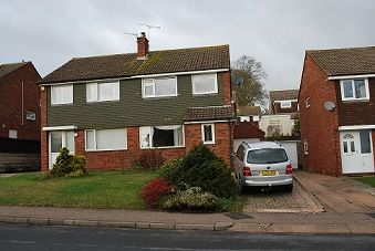 Thumbnail 3 bed semi-detached house to rent in Parkside Drive, Exmouth