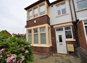Thumbnail 3 bed end terrace house to rent in Gorse Road, Blackpool, Lancashire