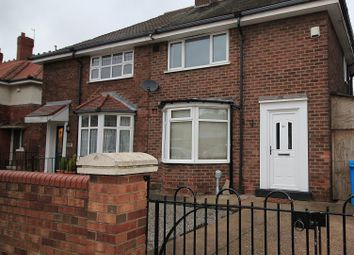 Thumbnail 2 bed semi-detached house to rent in 29th Avenue, Hull