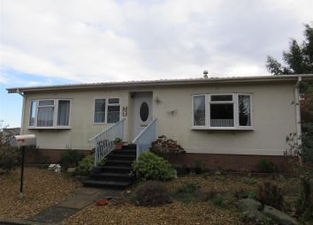 Thumbnail 2 bed mobile/park home for sale in Bedwell Park, Witchford, Ely