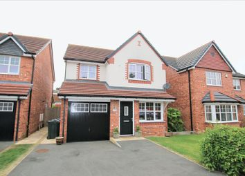Thumbnail 4 bed detached house for sale in Becconsall Gardens, Hesketh Bank, Preston
