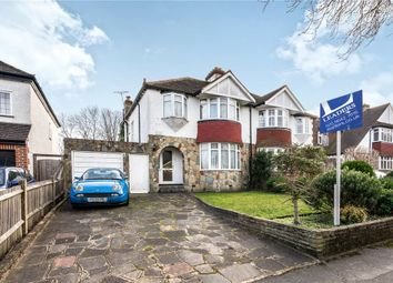 Thumbnail 3 bed semi-detached house for sale in Banstead Road South, Sutton