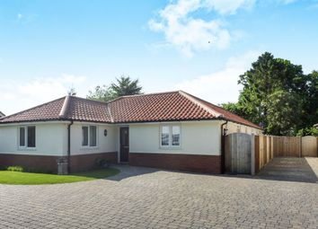 Thumbnail 4 bed detached bungalow for sale in Poringland Road, Stoke Holy Cross, Norwich