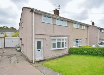 Thumbnail 2 bedroom semi-detached house for sale in Scawfell Avenue, Workington