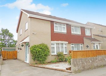 Thumbnail 3 bed semi-detached house for sale in Fawkes Close, Warmley, Bristol