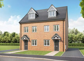 "Thumbnail 3 bedroom semi-detached house for sale in ""The Wyatt"" at Walkmill Lane, Cannock"