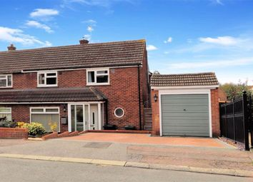 Thumbnail 3 bed semi-detached house for sale in Beaconfield Way, Epping