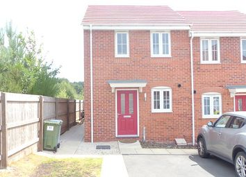 Thumbnail 2 bed end terrace house to rent in First Oak Drive, Clipstone Village, Mansfield