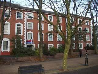 Thumbnail Serviced office to let in 108 New Walk, Leicester