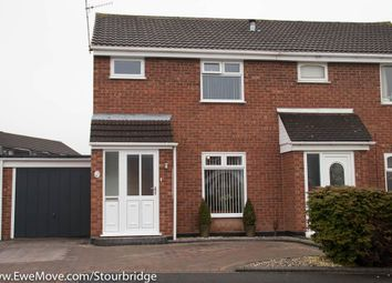 Thumbnail 3 bed semi-detached house for sale in Tilston Drive, Brierley Hill