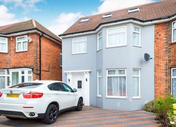 Thumbnail 5 bed semi-detached house for sale in Vivian Avenue, Wembley, Middlesex, England