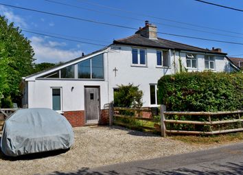 3 bed semi-detached house for sale in Rowes Lane, East End, Lymington SO41