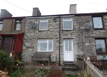 2 bed terraced house for sale in Bryn Derwen Terrace, Talysarn, Caernarfon, Gwynedd LL54