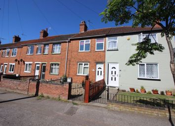 Thumbnail 2 bed terraced house for sale in Somerton Avenue, Lowestoft