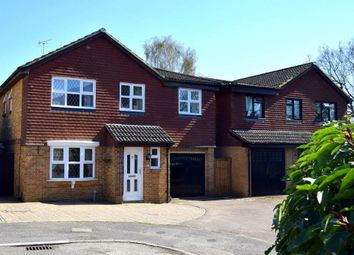 Thumbnail 5 bed detached house for sale in Larch Way, Farnborough