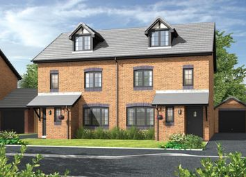 Thumbnail 4 bed semi-detached house for sale in The Jenner, Daneside Park, Off Forge Lane, Congleton, Cheshire