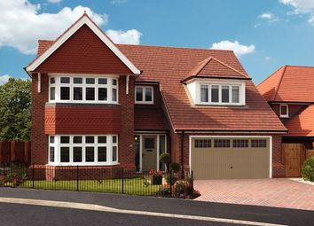 Thumbnail 5 bedroom detached house for sale in The Uplands, Wolverhampton Road, Shifnal, Shropshire