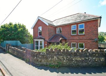 Thumbnail 4 bed detached house for sale in St. Johns Road, Wroxall, Ventnor