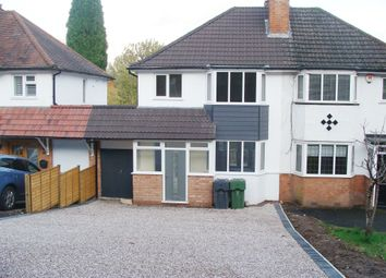 Thumbnail 3 bed semi-detached house for sale in Barnt Green Road, Cofton Hackett