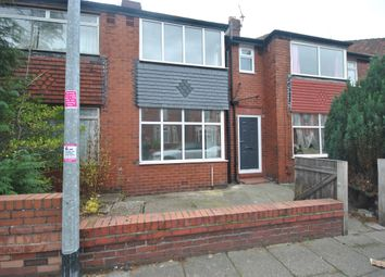 Thumbnail 3 bed terraced house for sale in Gladstone Road, Eccles Manchester