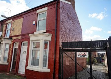 Thumbnail 2 bed end terrace house for sale in Victor Street, Liverpool