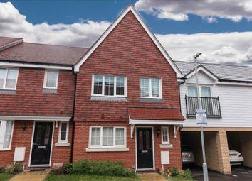 Thumbnail 3 bedroom terraced house to rent in Isles Quarry Road, Borough Green, Sevenoaks