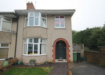 Thumbnail 3 bed end terrace house for sale in Lincombe Avenue, Downend, Bristol