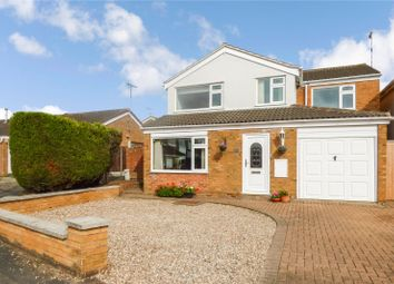 Thumbnail 4 bed detached house for sale in Osprey Close, Broughton Astley, Leicester, Leicestershire