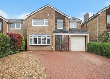 Thumbnail 4 bed detached house for sale in North Leys Court, Moulton, Northampton
