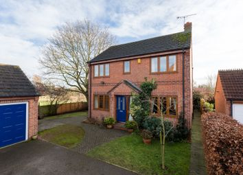 Thumbnail 4 bed detached house for sale in Chapel Court, Huby, York