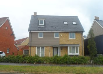 Thumbnail 5 bed detached house to rent in Poethlyn Drive, Queens Hills, Norwich