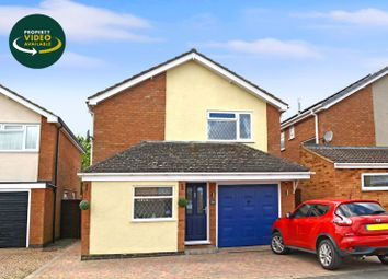 Thumbnail 3 bed detached house for sale in Batchelor Road, Fleckney, Leicester
