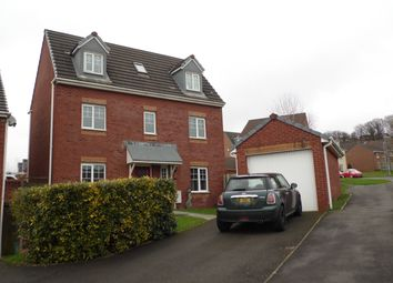 Thumbnail 4 bed detached house for sale in Penrhiwtyn Drive, Neath