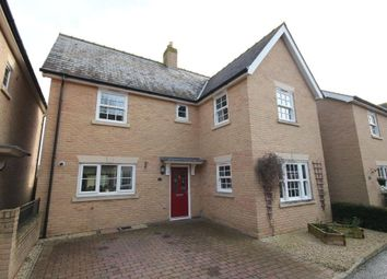 Thumbnail 4 bed detached house for sale in Oak Farm Drive, Little Downham, Ely